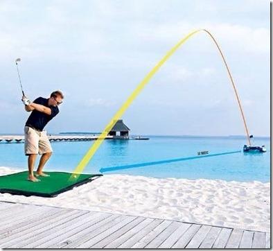 Velaa - golf inflatable