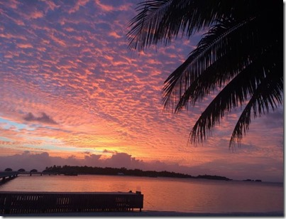 Maldives sunset 10