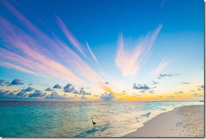Maldives sunset 3