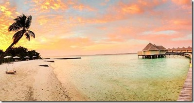Maldives sunset 8