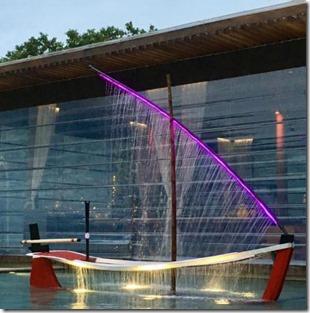 Park Hyatt Hadahaa - dhoni fountain
