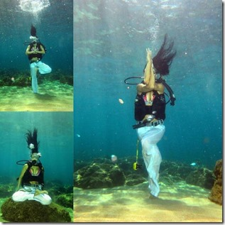 World Underwater Yoga Chamionships 3 - April Fools