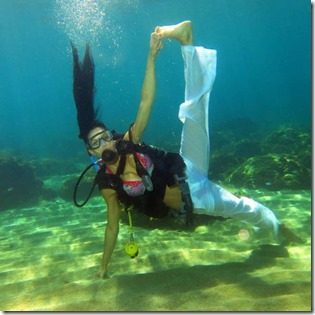 World Underwater Yoga Chamionships 4 - April Fools