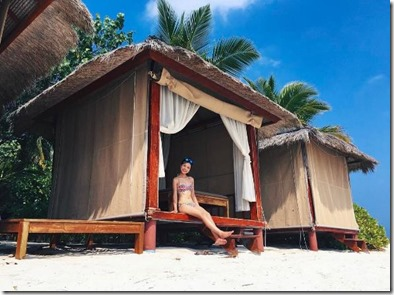 Banyan Tree Vabbinfaru - beach hut