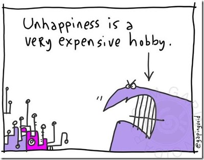 Gapingvoid - unhappiness hobby