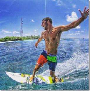 Almog Sharf (Israel) – Adaaran Hudhuranfushi - Surfer