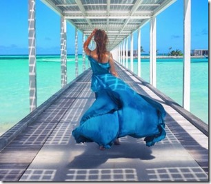 Anastasia Romanova (Russia) - Club Med Finolhu Villas