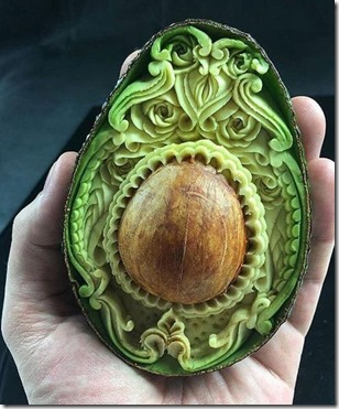 Havent Seen - carved avacado