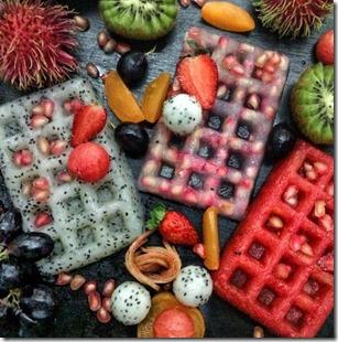 Havent Seen - fruit waffles
