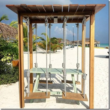 Constance Moofushi - table swing