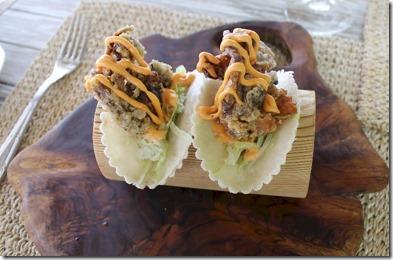 Finolhu - soft shell crab tacos