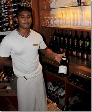 Huvafenfushi - Sommelier Indica Romani Pinot Noir