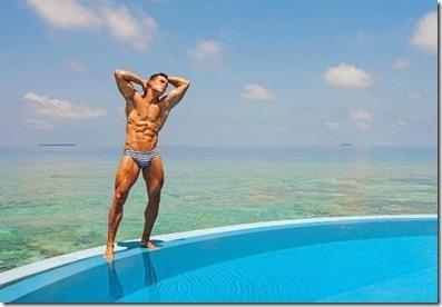 Alexander Dorokhov (Russia) – W Hotel - fitness