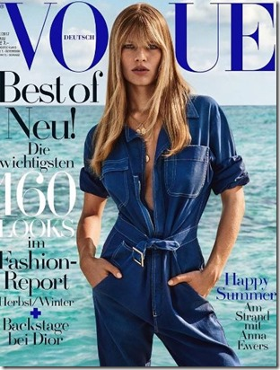 Anna Ewers (Germany) - Soneva Fushi – Vogue Germany
