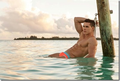 Male Model - Alexander Dorokhov (Russia) – Six Senses Laamu