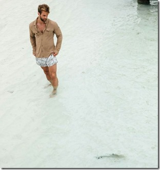 Male Model - Andre Hamann (Germany) – Club Med Finolhu Villas
