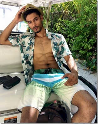 Male Model - Nitin Gupta (India) – One & Only Reethi Rah