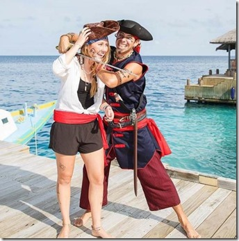 Six Senses Laamu - pirate treasure