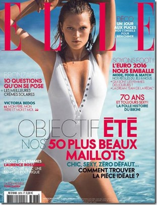 Toni Garrn (USA) – The Residence – Elle (France)