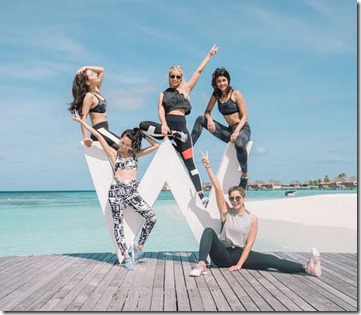 W Maldives - Rebok instagram 1