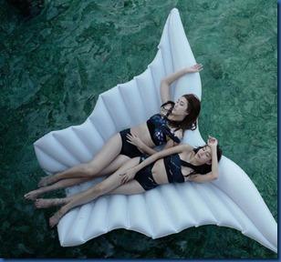 Jammie Panichadar and Hana Lewis (Thailand) - Four Seasons Landaa Giraavaru