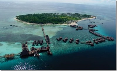 Mabul Borneo resort