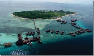 Mabul Borneo resort