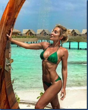 Victoria Demidova (Russia) - One & Only Reethi Rah