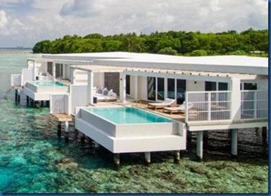 Amilla Fushi - white villa