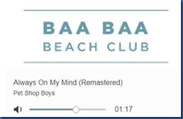 Finolhu - Baa Beach Club radio