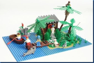 Havent Seen - Pirate Lego Set