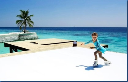 Jumeirah Vittaveli - skating rink