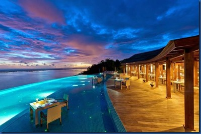 Maldives sunset 1