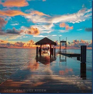 Maldives sunset 10