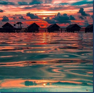 Maldives sunset 11