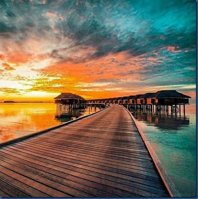 Maldives sunset 13