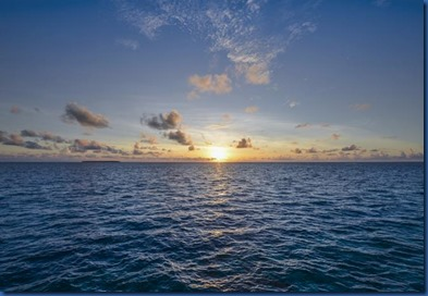 Maldives sunset 19