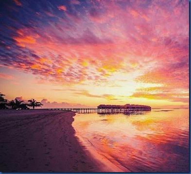 Maldives sunset 20