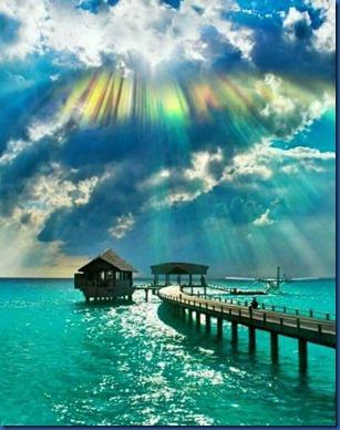 Maldives sunset 5