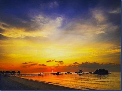 Maldives sunset 6