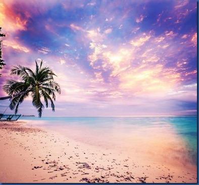 Maldives sunset 7
