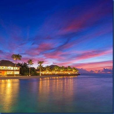Maldives sunset 8