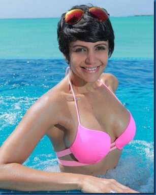 Mandira Bedi (India) – Hideaway Beach