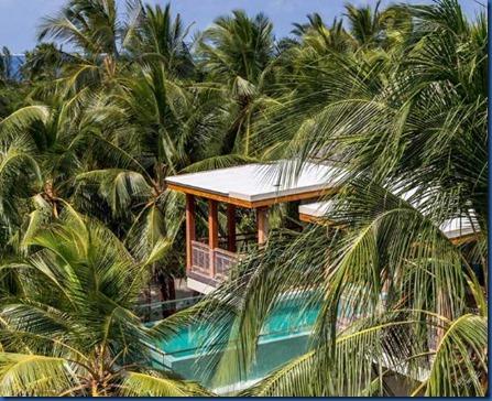 Amilla Fushi - wellness treehouse