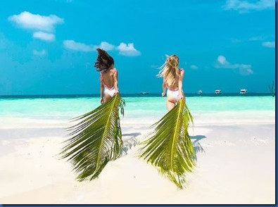Dominika and Siobhan Mcauley (United Kingdom - Ireland) – Sun Siyam Irufushi 3
