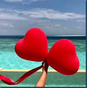 Hearts - balloons