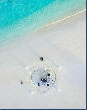 Hearts - beach