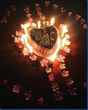 Hearts - cake