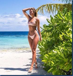 Kristina Mendonca (Australia) - W Maldives