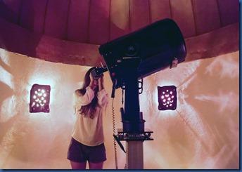 Soneva Fushi - telescope